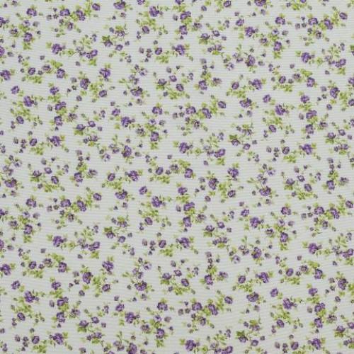 Декоративная ткань цветочки мелкие - 268464