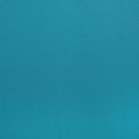 Однотонная хлопковая ткань для шторт.голубая бирюза - 268776
