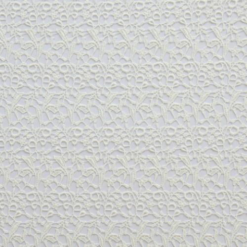 Гипюр-кружево молочный - 269198