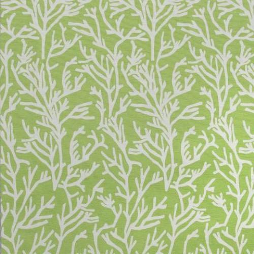 Однотонная хлопковая ткань для штор св.зелёное яблоко - 273432