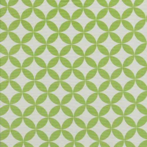 Однотонная хлопковая ткань для штор аквамарин св.зелене яблоко - 273434