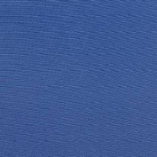 Однотонная хлопковая ткань для шторт.голубой - 273438