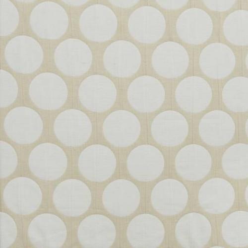 Двухсторонняя ткань с крупным горохом  - 274144
