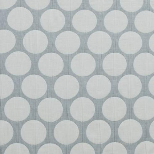 Двухсторонняя ткань с крупным горохом  - 274148
