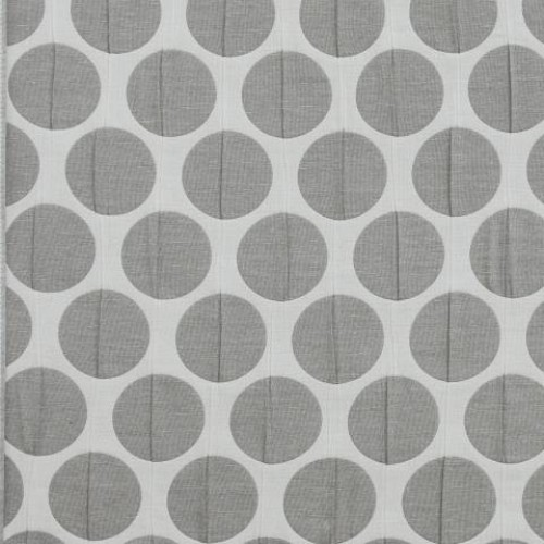 Двухсторонняя ткань с крупным горохом  - 274152