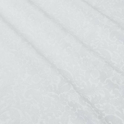 Декоративная ткань белый - 275284