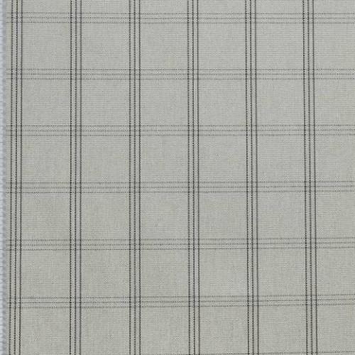 Декоративная ткань цвет натуальный, чёрный - 276912