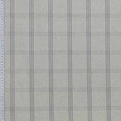 Декоративная ткань натуральный цвет.,графит - 276924