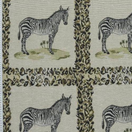 Гобелен зебра в рамочке - 277504