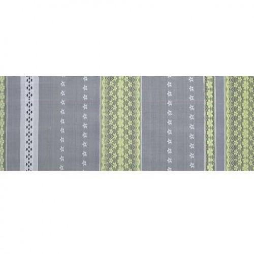 Гардины для штор зеленая оливка - 278454
