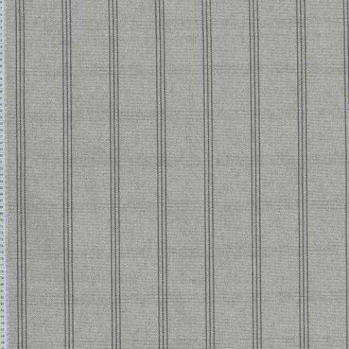 Декоративная ткань молочный,серый - 279172