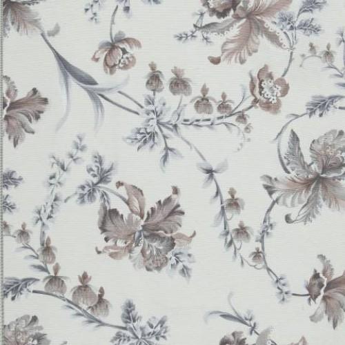 Ткань для комнаты цветочный принт  - 280770