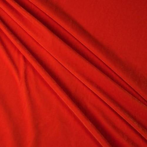 Бархат ярко-оранжевый - 281740