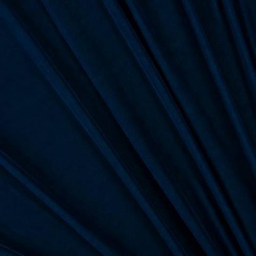 Бархат шторный синий - 281754