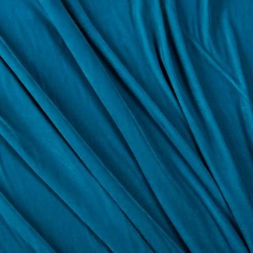 Бархат темно-голубой - 281756