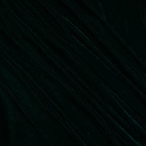 Бархат темно-зелёный - 281764