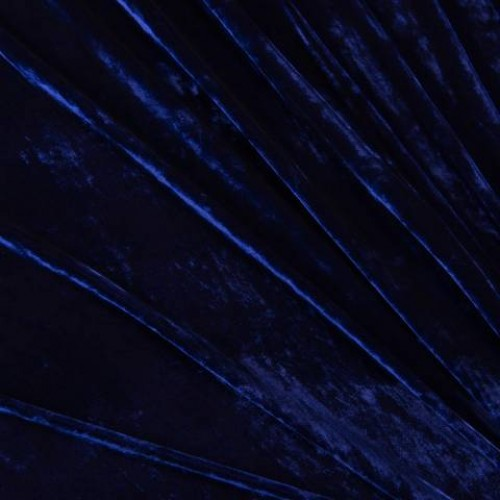 Бархат шелк электрик - 50348