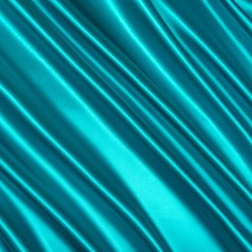 Атлас плотный темно-бирюзовый - 61958
