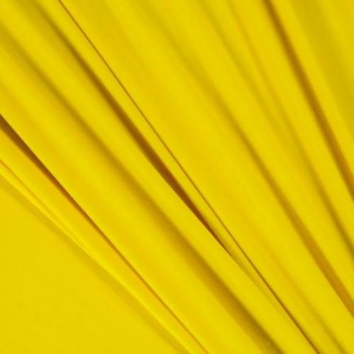Бархат стрейч желтый - 6348