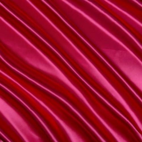 Атлас плотный темно-красный - 82872