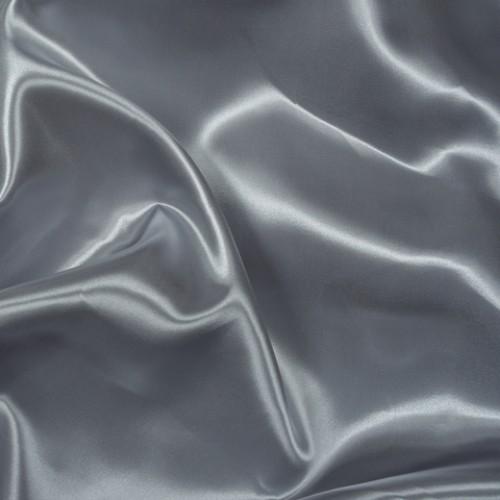 Атлас плотный серый - 86092